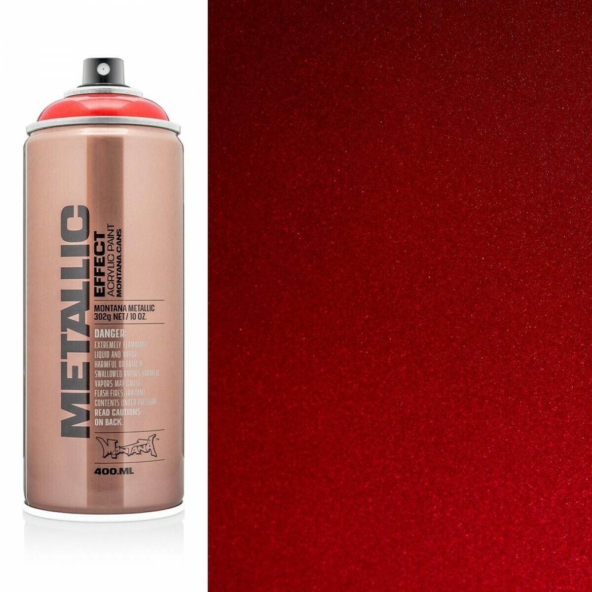 Montona; Metallic Spray, Metallic Red