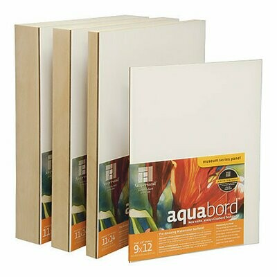 "Ampersand Art; Aquabord, Uncradled 1/8"" Profile, 11X14"