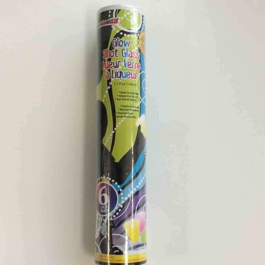 Color Fantastik; 6Pk 1.5Oz Glow Shotglass