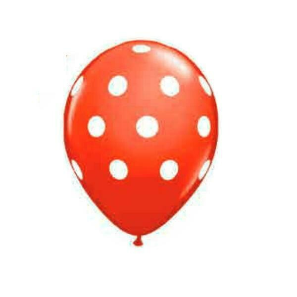 Color Fantastik; Polka Dot Red Balloon