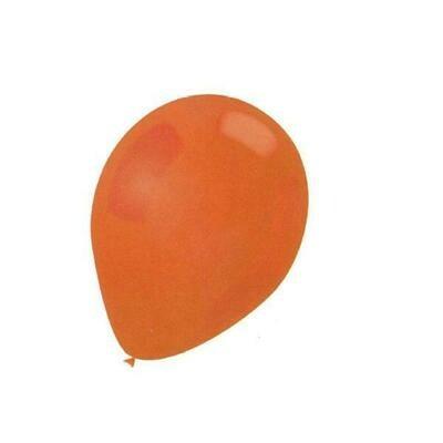 Color Fantastic; 15Ct 12In Helium Balloons Premium Orange