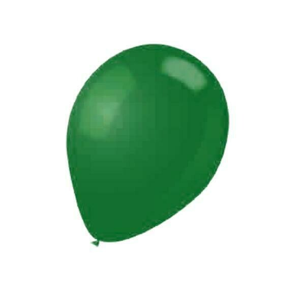 "Color Fantastic; 15Ct 12""Helium Quality Balloons, Premium Green"