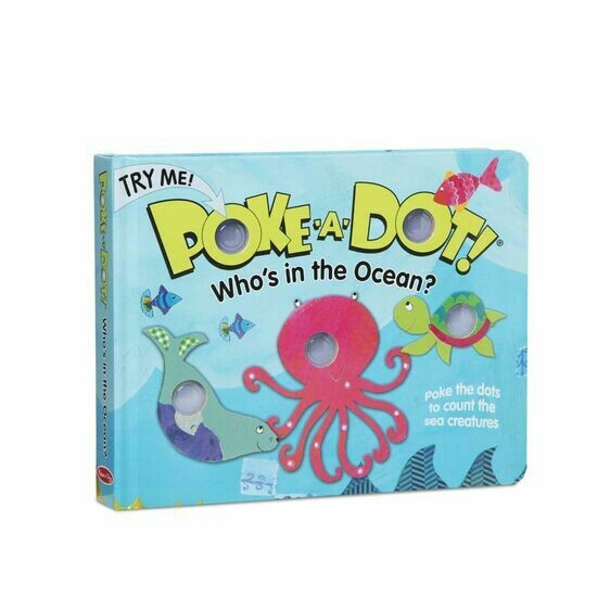 Melissa And Doug; Poke-A-Dot: Who'S In The Ocean