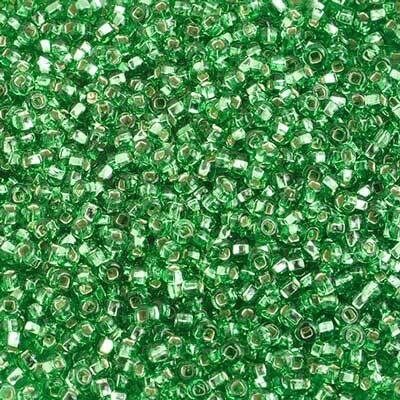 John Bead; Czech Seed Bead 10/0 S/L Lime Green Strung
