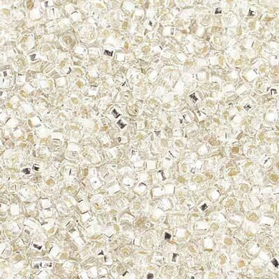 John Bead; Czech Seed Bead 10/0 S/L Crystal strung