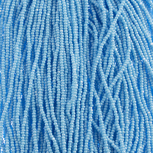 JohnBead; 11/0 light blue lustre
