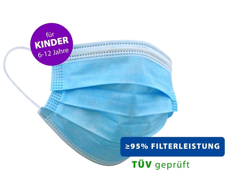 Kinder - Atemschutzmasken 50er Packung