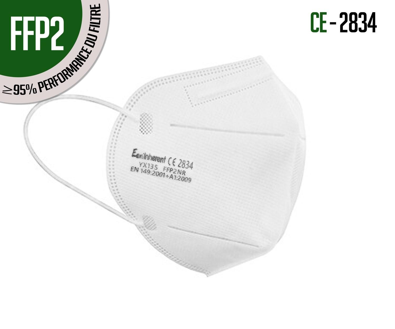 Mascherina respiratoria di protezione KN95 (FFP2) - confezione da 10 pz.