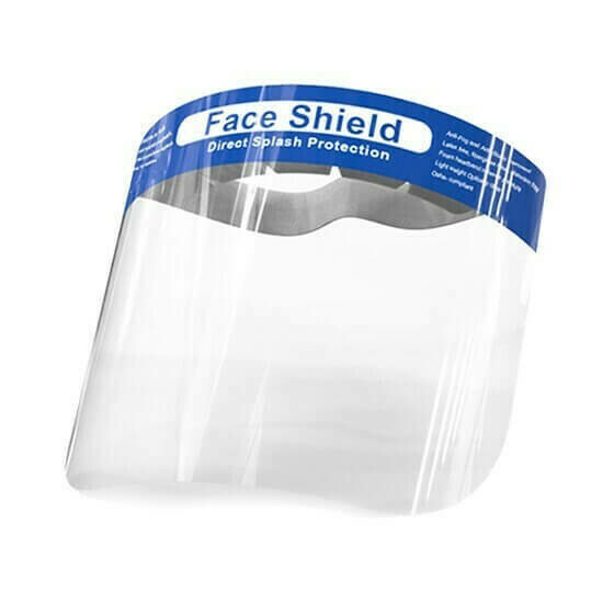 Face shield droplet protection – pack of 5