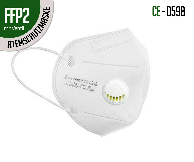 Atemschutzmaske FFP2 mit Ventil  10er Packung