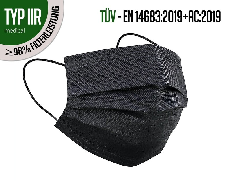 Respirateurs TYPE IIR - paquet de 50