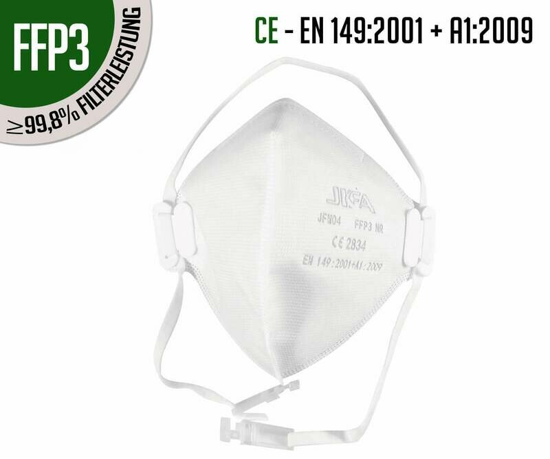 Respirators FFP3 without valve - pack of 10