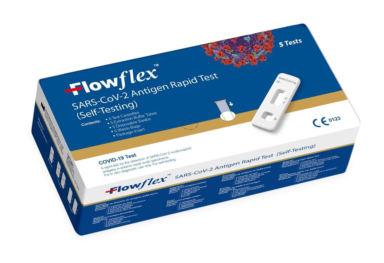 Covid-19 Antigen Rapid Test 5er Packung - Selbsttest