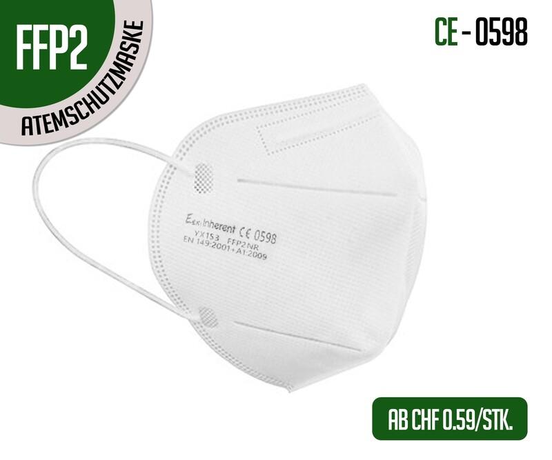 Mascherina respiratoria di protezione FFP2 - confezione da 10 pz.