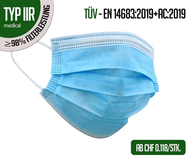 Respiratori TIPO IIR - confezione da 50