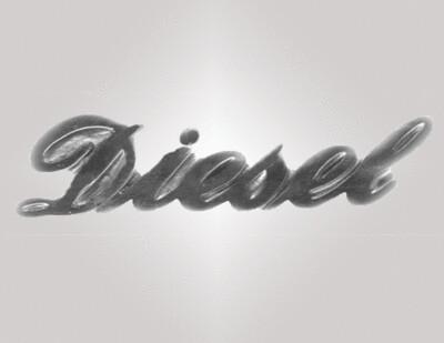 Schriftzug Diesel