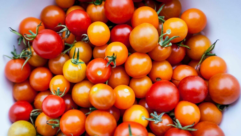 Cherry tomatoe punnet