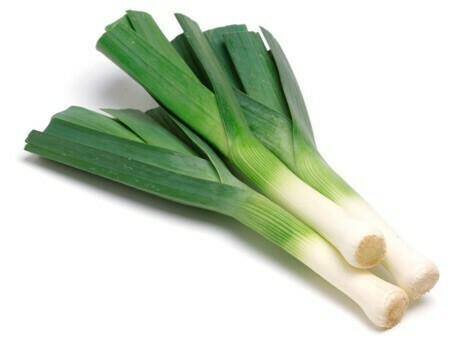 Leeks bunch