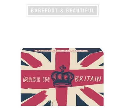 The Bath House Barefoot Love Britain Soap Bar