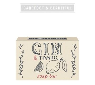 The Bath House Barefoot Gin & Tonic Soap Bar