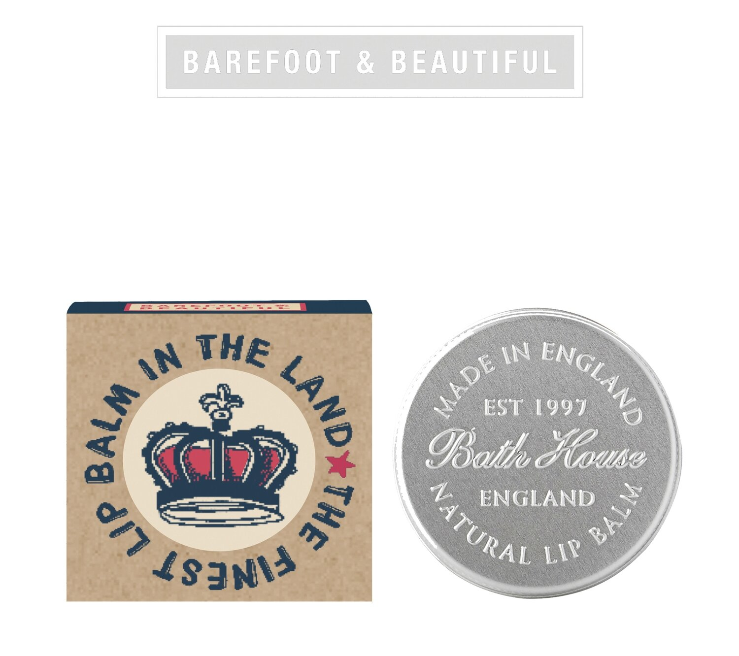 The Bath House Barefoot Love Britain Lip Balm