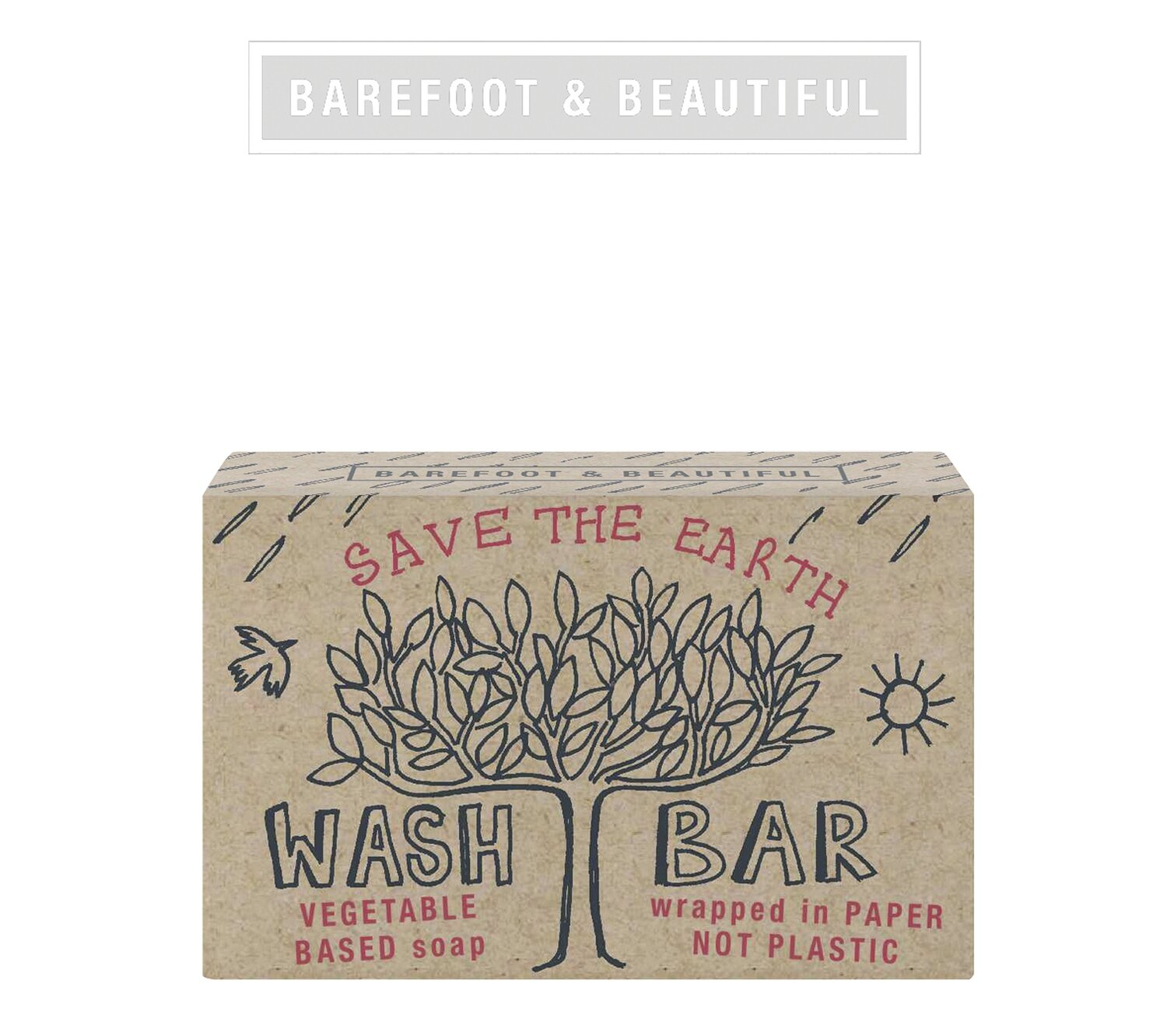 The Bath House Barefoot Earth Bodycare Soap Bar