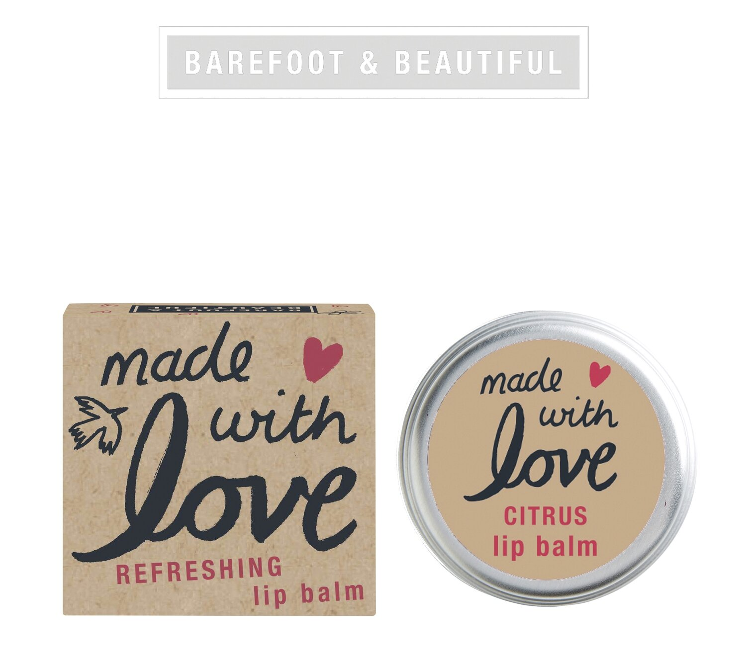 The Bath House Barefoot Earth Lip Balm