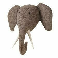 Fiona Walker Felt Elephant Head