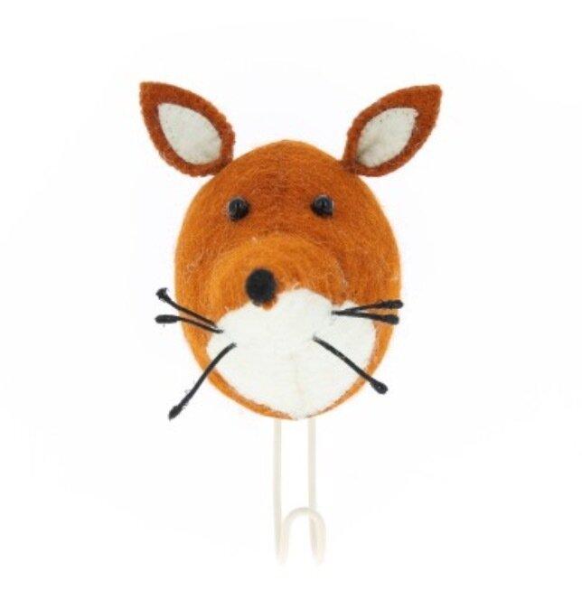 Fiona Walker Fox Head Hook