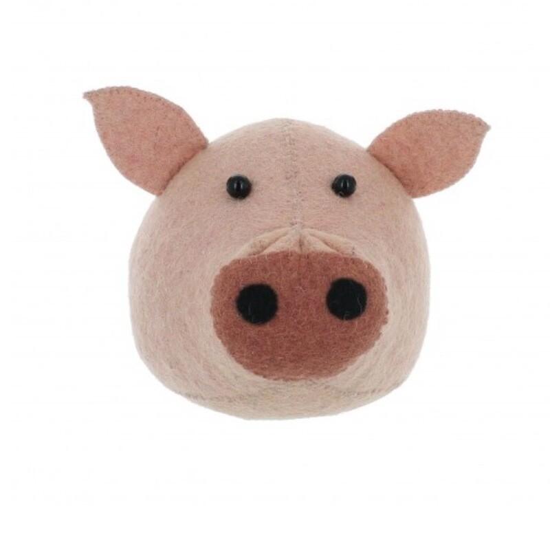 Fiona Walker Pig Mini Head