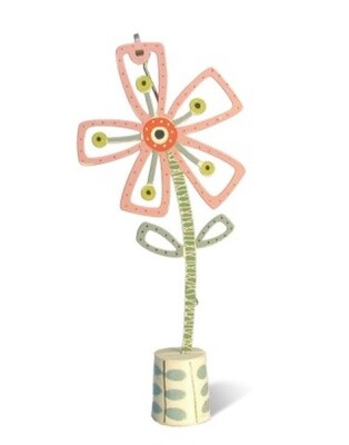 Abbot and Ellwood Brooch -Flower