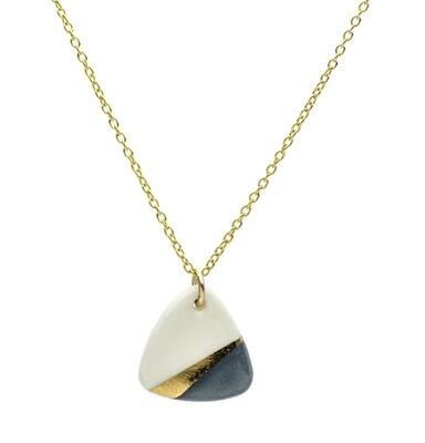 One & Eight Porcelain Slate Ray Necklace