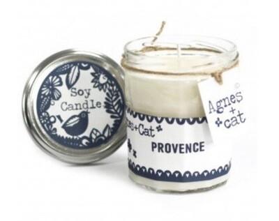 Agnes + Cat Jam Jar candles
