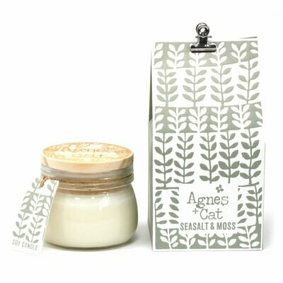 Agnes + Cat Small Kilner Jar Candle