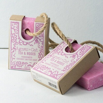 Agnes + Cat Assorted Soap On A Rope