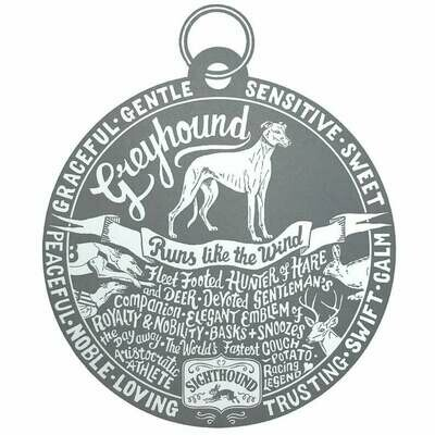 Debbie Kendall Greyhound Dog Tag