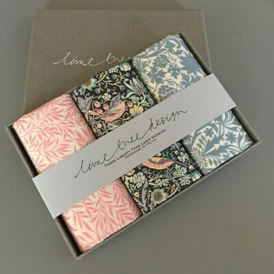 Lime Tree Design 3 Liberty Hankies in a Gift Box - Morrissey