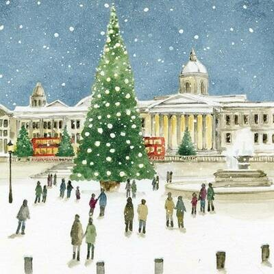 The Art File Dementia Charity, Trafalgar Square Christmas Cards