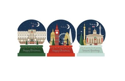 The Art File London Scene Trio Christmas Cards