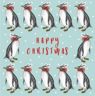 The Art File RSPCA Charity Penguin Christmas Cards