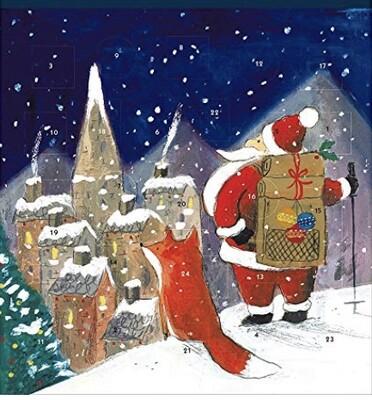 Advent Calendar - Santa & Friend