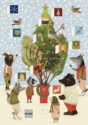 Advent Calendar Cards - Assorted Designs
