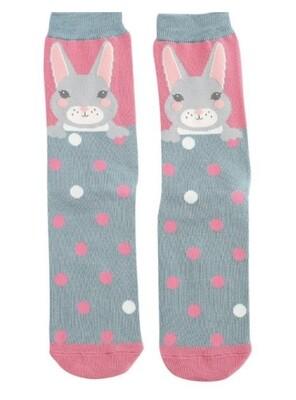 Ladies Bamboo Socks bunny
