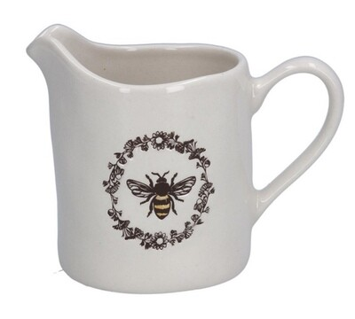 Gisela Graham Ceramic Bee Jug - Small
