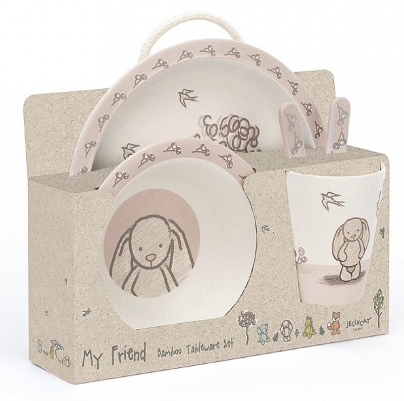 Jellycat Bamboo Bunny Set