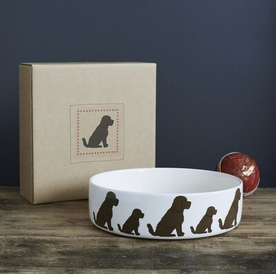 Sweet William Dog Bowl - Cockapoo