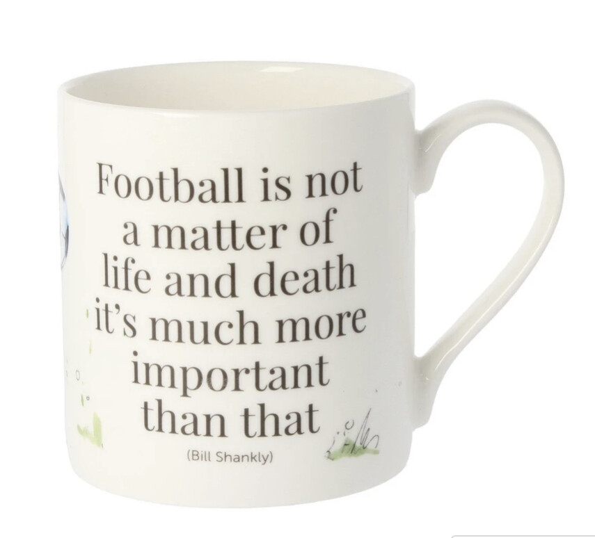 McLaggan Kate Spurway - Football Mug