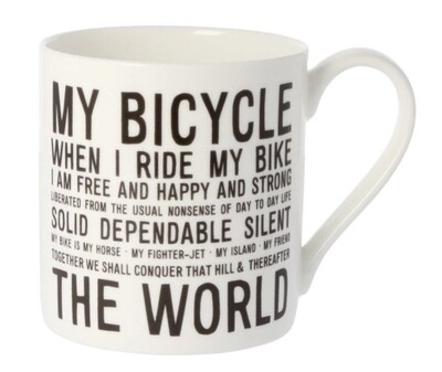 Mclaggan Bicycle Mug