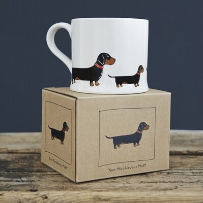 Sweet William Mug - Daschund