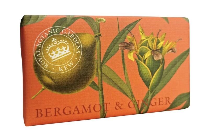 Kew Gardens Soap Bergamot and Ginger